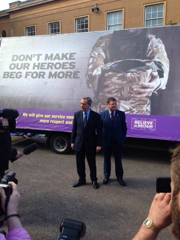 UKIP Campaign Bus