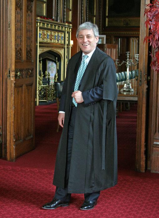 John Bercow MP, Speaker of the House of Commons