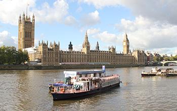 Parliament River Thames