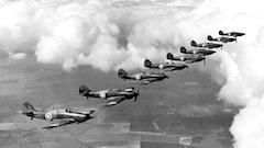 Hurricanes Battle of Britain